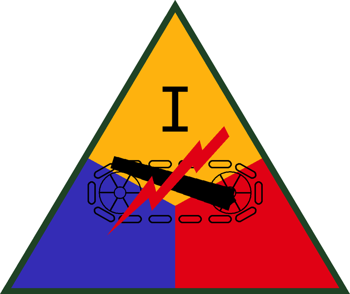 File:I Armored Corps, US Army.png
