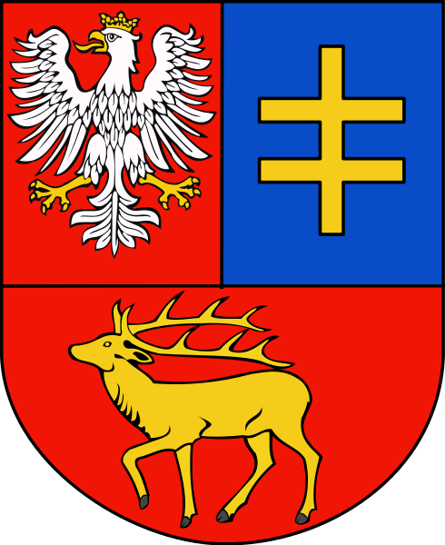 Arms of Parczew (county)