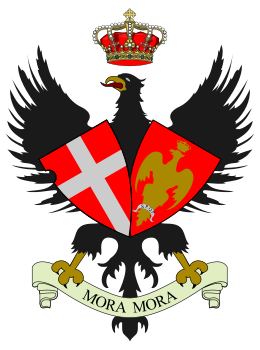 Arms of 30th Cavalry Regiment Cavalleggeri di Palermo, Italian Army