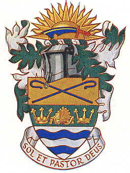 Arms (crest) of Sunbury-on-Thames