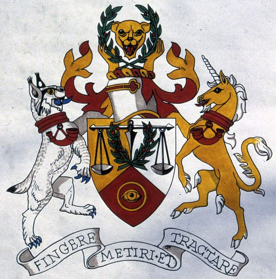 Arms of Institute of Quality Assurance
