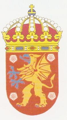 Hms Ostergotland Swedish Navy Kommunvapen Coat Of Arms Crest Of Hms Ostergotland Swedish Navy
