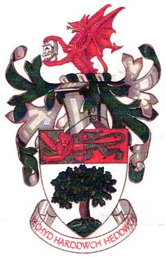 Arms (crest) of Colwyn Bay