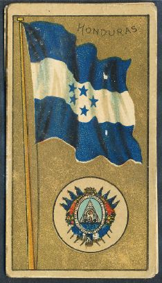 National Arms of Honduras - Escudo - Coat of arms - crest of