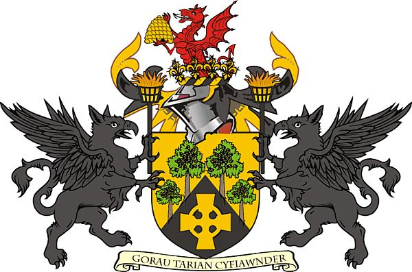 Arms (crest) of Islwyn