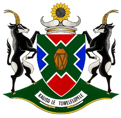 North West Province Arms Crest Of North West Province Wapen