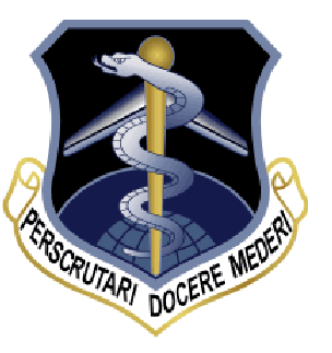Coat of arms (crest) of the Aerospace Medical Division, US Air Force