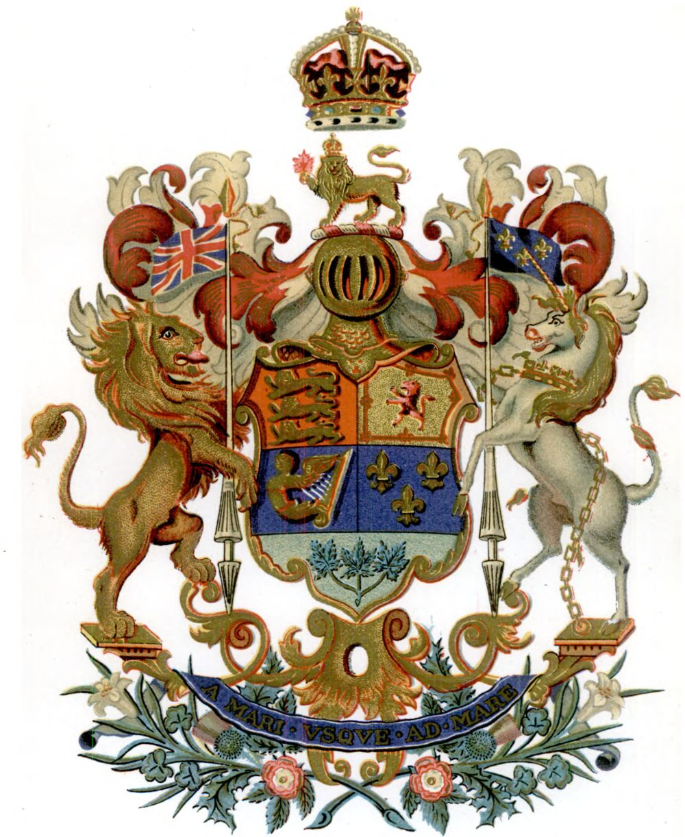 National Arms of Canada - Coat of arms (crest) of National ...