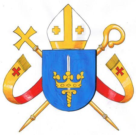 Diocese Of Stockholm Catholic Kommunvapen Coat Of Arms Crest