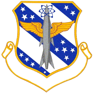 Coat of arms (crest) of the 813th Air Division, US Air Force