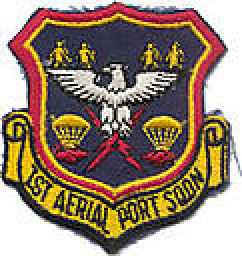 Coat of arms (crest) of the 1st Aerial Port Squadron, US Air Force