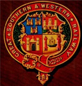 Great Southern and Western Railway - Coat of arms (crest) of