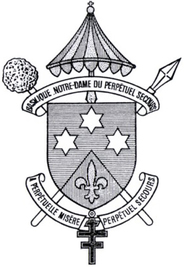 Arms (crest) of Basilica of Our Lady of Perpetual Help, Paris