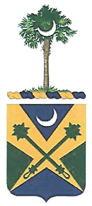 Coat of arms (crest) of the 51st Military Police Battalion, South Carolina Army National Guard