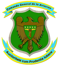 Coat of arms (crest) of the General Aviation Command, Air Force of Venezuela
