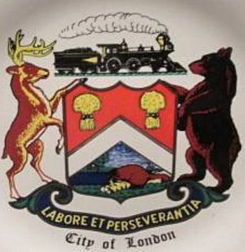 London (Ontario) - Coat of arms (crest) of London (Ontario)