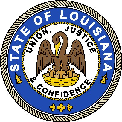 Arms (crest) of Louisiana