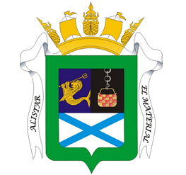 Coat of arms (crest) of the Naval Arsenal, Navy of Uruguay