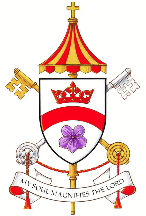 Arms (crest) of Basilica of Our Lady Immaculate, Guelph