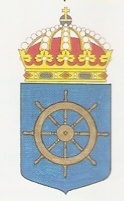 Coat of arms (crest) of the HMS Styrsö, Swedish Navy