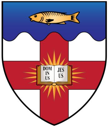 Arms of Regent's Park College (Oxford University)