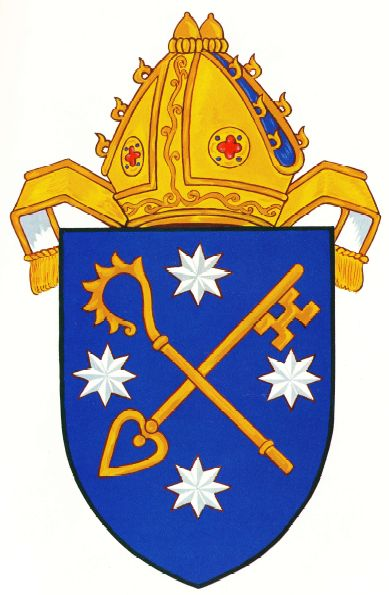 Arms (crest) of Diocese of Tasmania