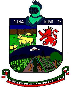 Arms (crest) of China (Nuevo León)
