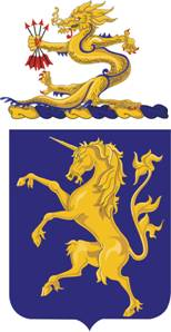 Coat of arms (crest) of the 6th Cavalry Regiment, US Army