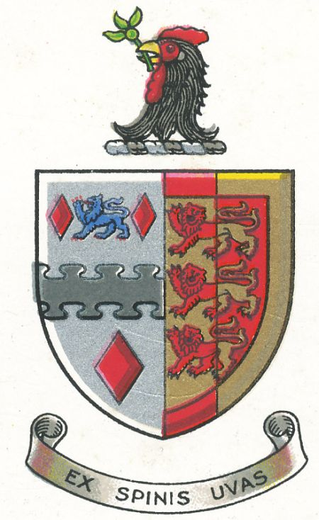Coat of arms (crest) of Bristol Grammar School