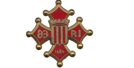 Coat of arms (crest) of the 83rd Infantry Regiment, French Army
