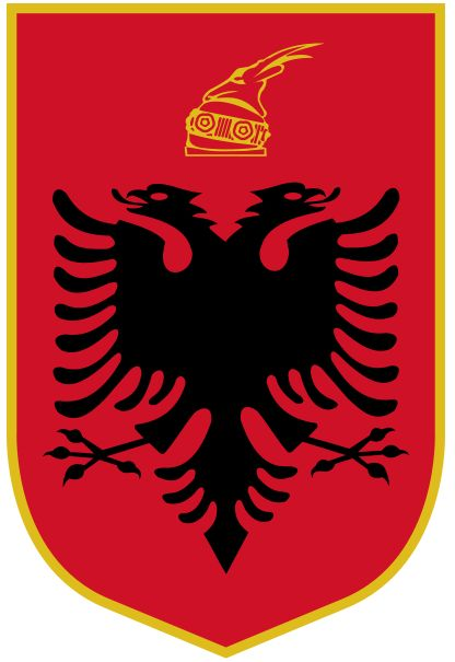 Arms of National Arms of Albania