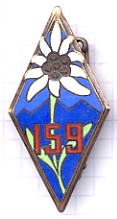 Coat of arms (crest) of the 159th Alpine Infantry Regiment, French Army