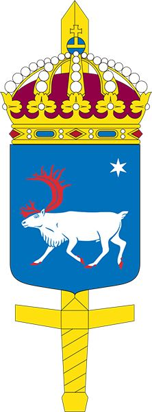 Coat of arms (crest) of the Military Region North, Sweden