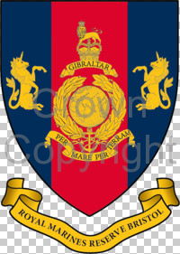 Arms of Royal Marines Reserve Bristol