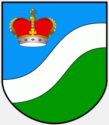 Arms (crest) of Augustów (county)
