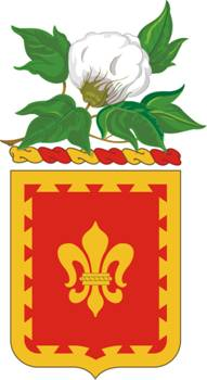 Coat of arms (crest) of the 117th Field Artillery Regiment, Alabama Army National Guard
