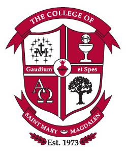 Arms (crest) of College of Saint Mary Magdalen