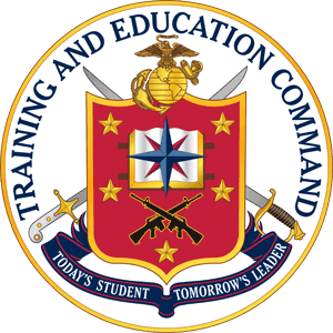 Coat of arms (crest) of the Marine Corps Training and Education Command, USMC