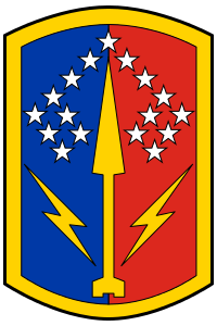 Arms of 174th Air Defence Artillery Brigade, Ohio Army National Guard
