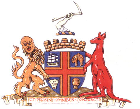 Arms (crest) of Adelaide