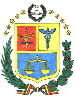 Arms (crest) of Cochabamba (Departement)