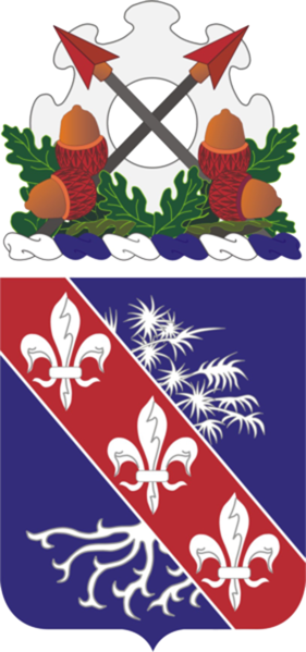 Arms of 327th Infantry Regiment, US Army