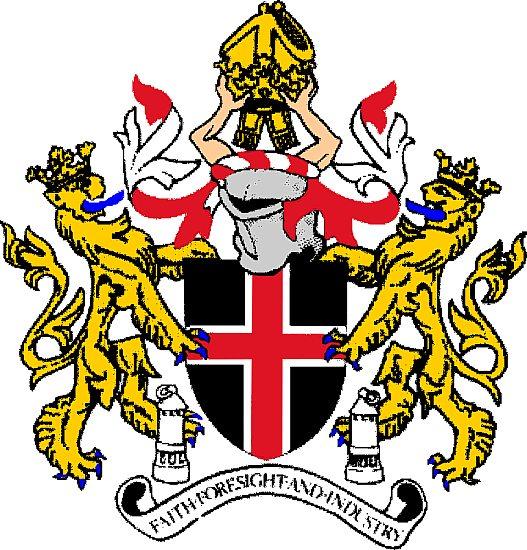 Durham City Coat Of Arms Crest Of Durham City