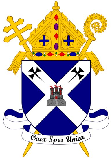 Arms (crest) of Archdiocese of St Andrews and Edinburgh