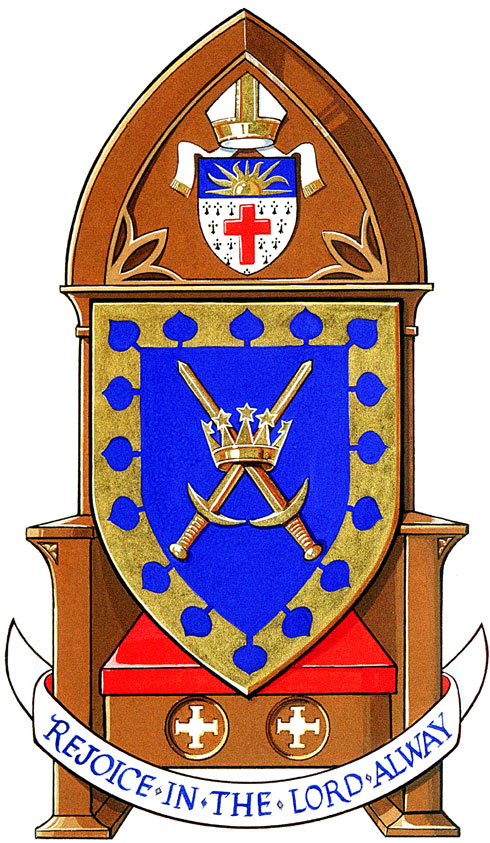 Arms of Saint Paul's Cathedral, Regina
