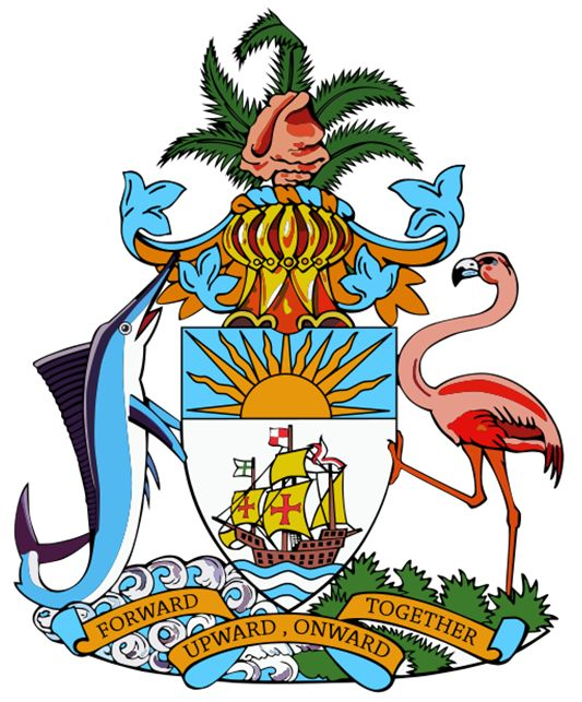 Arms of National Arms of the Bahamas