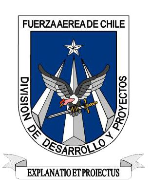 Coat of arms (crest) of the Development and Projects Division of the Air Force of Chile