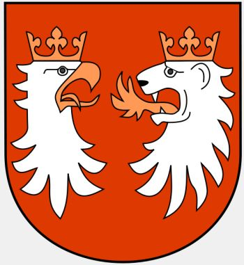Arms (crest) of Gorlice (county)
