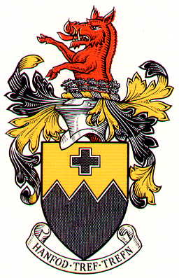 Arms (crest) of Ammanford