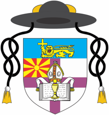 Arms (crest) of Anglican Community in Skopje, Diocese in Europe (Church of England)